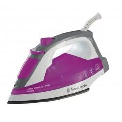 Утюг Russell Hobbs 23591-56 White/violet (2400Вт,240мл,паровой удар 96г/мин,керамика)