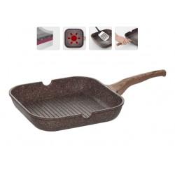 Сковорода-гриль NADOBA GRETA (728620) 28*28см