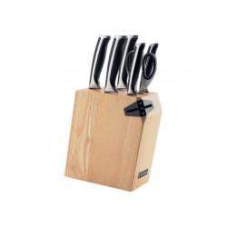 Набор ножей NADOBA URSA (722616) 5ножей,ножницы,подставка с ножеточкой