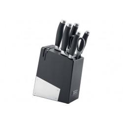 Набор ножей NADOBA RUT (722716) 5ножей,ножницы,подставка с ножеточкой