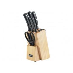 Набор ножей NADOBA HELGA (723016) 5ножей,подставка с ножеточкой