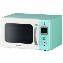 Микроволновая печь DaewooKOR-6LBRWM Turquoise/white (800Вт,20л,электр-е упр.)