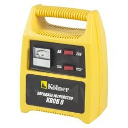 Зарядное устройство для аккумуляторов Kolner KBCН 8 выход 6В/2A, 12В/5.6A, до 8A