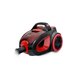 Пылесос Ginzzu VS437 Black/red (2000Вт,мощ. вс. 400Вт,объем 2.5л,циклонный фильтр)