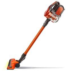 Пылесос вертикальный Ginzzu VS402 Orange (100Вт,объем 0.8л,циклонный фильтр,АКБ 2200мАч)