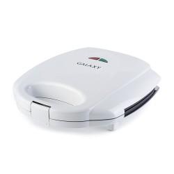 Сэндвичница Galaxy GL 2954 White 800Вт, антипригарное покрытие, индикатор работы