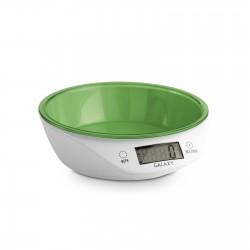Кухонные весы Galaxy GL 2804 White/green электронные, пластик, макс. 5кг, точность 1г, авто вкл/выкл
