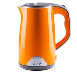 Чайник Galaxy GL 0313 Orange (2000Вт,1.7л,сталь/пластик,закрытая спираль)