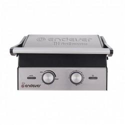 Гриль Endever Grillmaster 240 Silver/black 2100Вт, антипригарное покрытие, мех-е управление