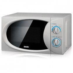 Микроволновая печь BBK 20MWS-714M/S Silver (700Вт,20л,механ-е упр.)