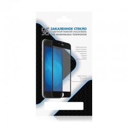 Защитное стекло для Samsung Galaxy J2 Core с цветной рамкой (fullscreen) DF sColor-59 Black