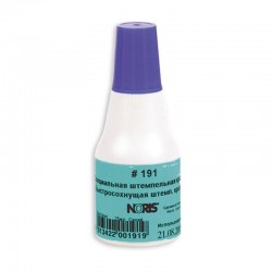 Штемпельная краска 25мл. NORIS синяя, универс. д/глянц. бум, металла, пластмасс и др. (191Ас(223624)