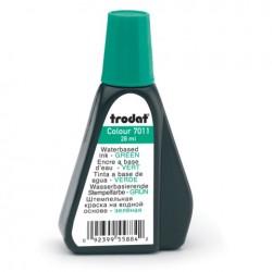 Штемпельная краска 28мл. TRODAT 7011 зеленая