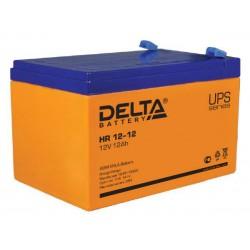 Аккумулятор Delta HR12-12 (12V,12A)