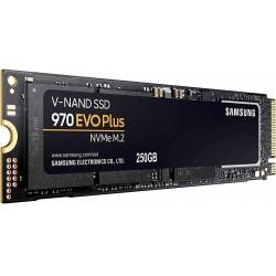 SSD-накопитель M.2 250Гб Samsung 970 EVO Plus [MZ-V7S250BW](TLC 3D V-NAND,NVMe,3500/2300 Мб/с)