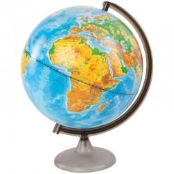 Глобус физический Глобусный мир, 25см, на круглой подставке 10160