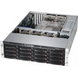 Supermicro SuperStorage 3U Server 6038R-E1CR16H no CPU(2)E5-2600v3/v4 no memory(16)/on boardRAID 0/1/5/10/ LSI3108/noHDD(16)LFF/opt.2x2.5(rear)/2x10Gb/7xLP/JBODExpSlot/2x920W/Single Expander backplane
