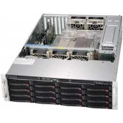 Supermicro SuperStorage 3U Server 6039P-E1CR16H noCPU(2)Scalable/TDP 70-205W/ no DIMM(16)/ 3108RAID HDD(16)LFF/ 2x10GbE/ 5xFH/ 2x1200W
