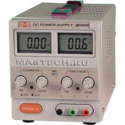 Блок питания MASTECH HY-3003D/ 0..30в, 0..3А, 2xLCD