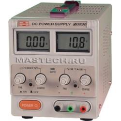 Блок питания MASTECH HY-3005D/ 0..30в, 0..5А, 2xLCD