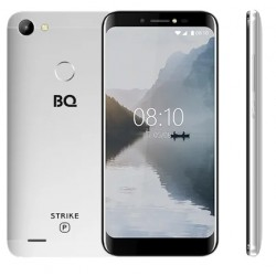 "Смартфон BQ BQ-5514G Strike Power Silver 2sim/5.45""/1440*720/4*1.3ГГц/1Gb/8Gb/mSD/8Мп/Bt/WiFi/GPS"