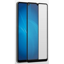 Защитное стекло для Huawei Mate 20 с цветной рамкой (fullscreen + fullglue) DF hwColor-81 (black)