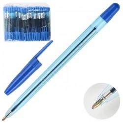 """Ручка шариковая СТАММ """"111 """"Офис"""" синяя, 0,7- 1мм,  корп. тонированный (ОФ999)"""