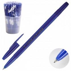 """Ручка шариковая СТАММ """"Тонкая линия письма"""", масл. основа, 0,7мм, синяя (РК20)"""