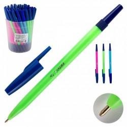 """Ручка шариковая СТАММ """"049"""", корпус флюор. 1,0 мм.  (РШ01)"""