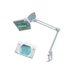 Лупа 8609L х3 /LED подсветка, струбцина/