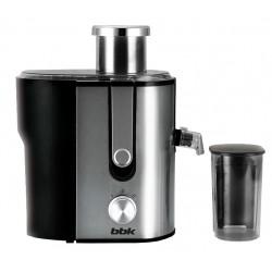 Соковыжималка BBK JC060-H02 Black/metellic центробежная, 600Вт, объем 1.3л, стакан 0.45л