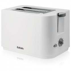 Тостер BBK TR72M White 700Вт, механическое управление
