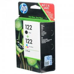 Набор картриджей HP CR340HE (№122) для DJ 1000/1050/200/2050/3000/3050 Black+Color (CH561HE+CH562HE)