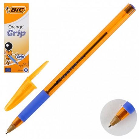 "Ручка шариковая BIC ""Orange GRIP Fine"" 0,8мм., синяя 811926"