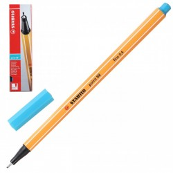 Ручка капиллярная STABILO бирюза 88/51 0,4мм