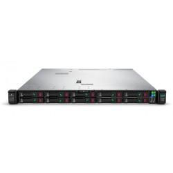Proliant DL360 Gen10 Silver 4114 Rack(1U)/Xeon10C 2.2GHz(13.75Mb)/1x16GbR2D_2666/P408i-aFBWC(2GB/RAID 0/1/10/5/50/6/60)/noHDD(8/10+1up)SFF/noDVD/iLOstd/4x1GbEth/EasyRK/1x500wPlat(2up)analog 867962-B21