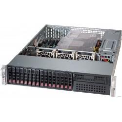 "Supermicro SuperChassis 2U 826BE1C4-R1K23LPB/ no HDD(12)LFF/ 7xLP/ 2x1200W Titanium(12"" x 13"", 13.68"" x 13"", 12"" x 10"")EE-ATX, E-ATX, ATX/ Backplane 8xSATA3/SAS3 and 4x NVMe/SAS3/SATA3"