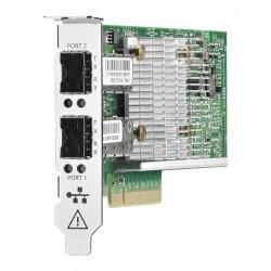 HPE Ethernet Adapter, 530SFP+, 2x10Gb, PCIe(2.0), QLogic, for G7/Gen8/Gen9/Gen10 servers