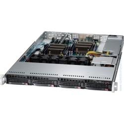 Supermicro SuperServer 1U 6018R-WTR no CPU(2) E5-2600v3/v4 no memory(16)/ on board C612 RAID 0/1/5/10/ no HDD(4)LFF/ 2xGE/ 2xFHHL/ 2x750W Platinum/ Backplane 4xSATA/SAS