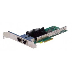 Silicom 10Gb PE310G2i50-T Dual Port Copper 10 Gigabit Ethernet PCI Express Server Adapter X4 Gen 3.0, Based on Intel X550-AT2, RoHS compliant (analog X550T2)