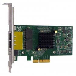 Silicom  1Gb PE2G2I35 Dual Port Copper Gigabit Ethernet PCI Express Server Adapter X4, Based on Intel i350AM2, Low-Profile, RoHS compliant (analog I350T2V2)