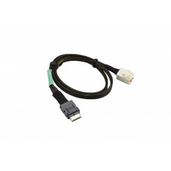 Supermicro CBL-SAST-0929 OCuLink 0.91 to MiniSAS HD,INT,PCIe NVMe SSD, 57CM, 34AWG.