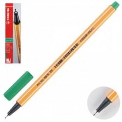 Ручка капиллярная STABILO зеленый  88/36 0,4мм