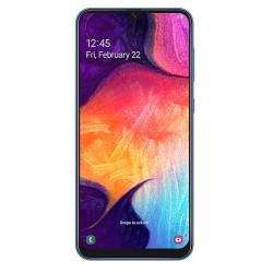 """Смартфон Samsung GalaxyA50 64GB SM-A505FN/DS Blue 2sim/6.4""""/2220*1080/8х2.3ГГц/4Gb/64Gb/mSD/25Мп/Bt"""