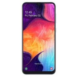 "Смартфон Samsung GalaxyA50 64GB SM-A505FN/DS White 2sim/6.4""/2220*1080/8х2.3ГГц/4Gb/64Gb/mSD/25Мп/Bt"