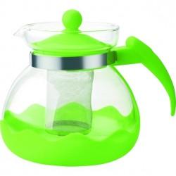 Заварник (чайник) Bekker BK-7627 1.5л,жаропрочное стекло,ситечко из нерж.стали,ручка и крышка пласти