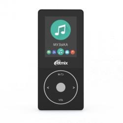 "MP3 плеер RITMIX RF-4650 4Gb Черный (1.8"",FM,диктофон,MP3,WMA,WAV,GIF,JPG,MicroSD до 128Gb)"