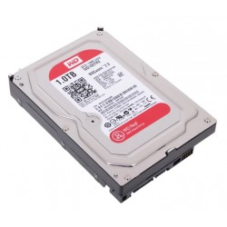 Жесткий диск HDD SATA-III 1,0Tb WD WD10EFRX Red,5400-7200,64Mb