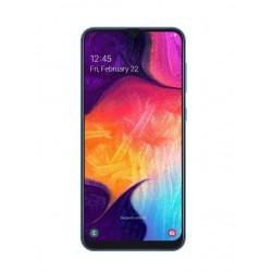 """Смартфон Samsung GalaxyA50 128GB SM-A505FM/DS Blue 2sim/6.4""""/2220*1080/8х2.3ГГц/6Gb/128Gb/mSD/25Мп/Bt"""