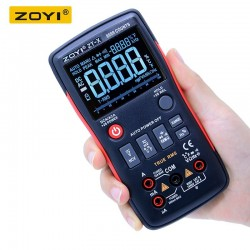 Мультиметр ZOTEK ZT-X /True RMS, 9999 отсчетов